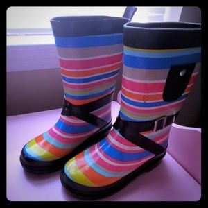 Rainboots 9/10 toddler